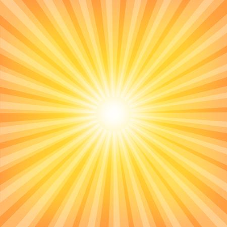 Sun Sunburst Pattern. Vector illustration Vector