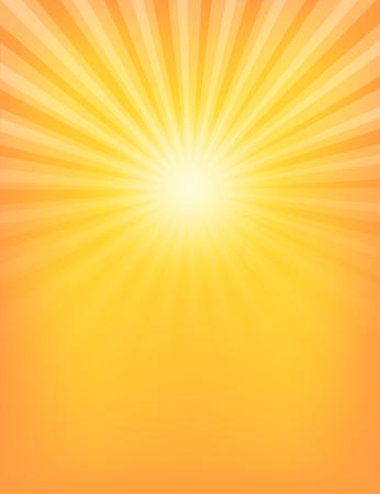 Empty Sun Sunburst Pattern. Vector illustration Illustration