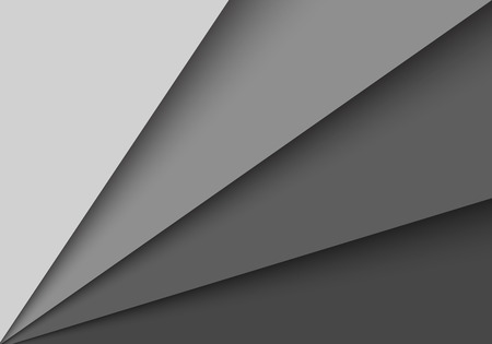 blank space: Abstract origami grey background with blank space  Vector illustration Illustration