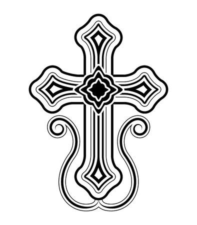 Traditional Armenian Apostolic Church cross clip art  Vector