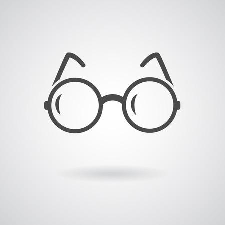 Glasses icon.  일러스트
