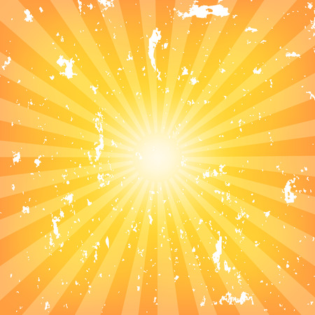 grunge pattern: Sun Sunburst grunge Pattern. Vector illustration Illustration