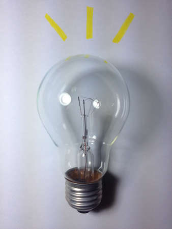 shiny: A shiny bulb stand for idea
