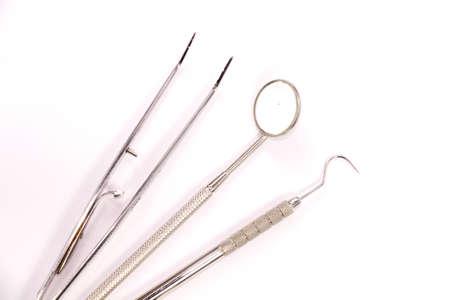 basic dental tools, basic dental instrument photo