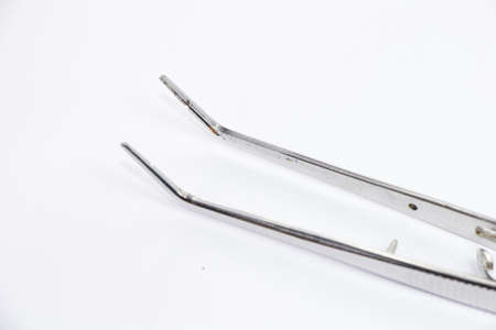 basic dental instrument called Forcep photo