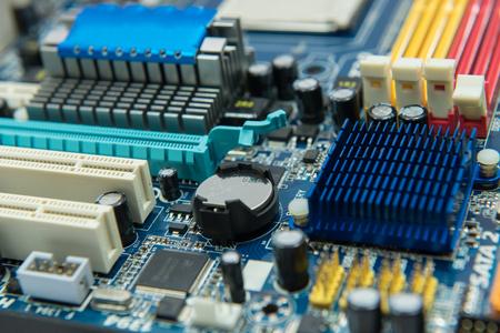 usb port: computer motherboard