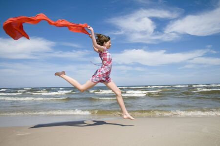 dress blowing in the wind: Summer euphoria