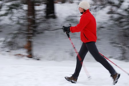 walking path: Nordic walking