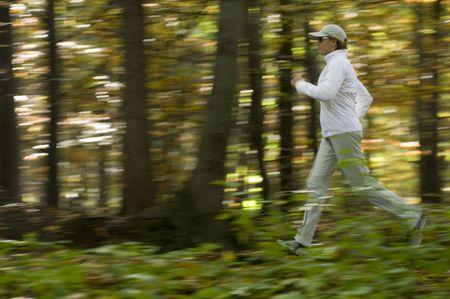 Autumn running Stock Photo - 3792879