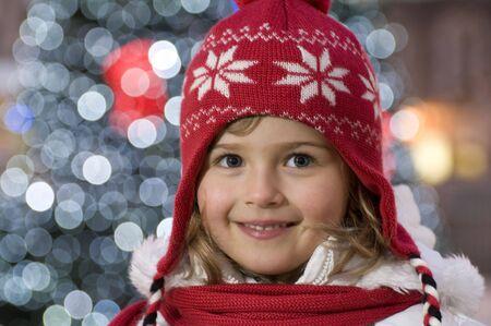 Cute girl  winter portrait Stock Photo - 4229973