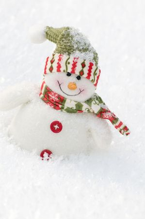 Happy snowman  Stock Photo - 4229955