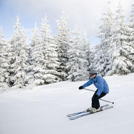 Skiing Stock Photo - 4150181