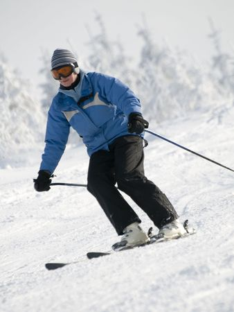 Skiing Stock Photo - 4150176