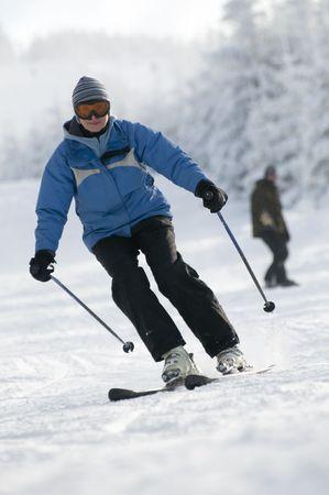 Skiing Stock Photo - 4150177