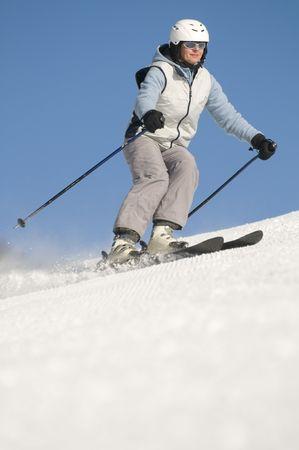Skiing Stock Photo - 4150215