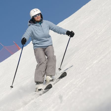 Skiing Stock Photo - 4150212