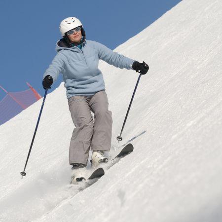 Skiing Stock Photo - 4150212