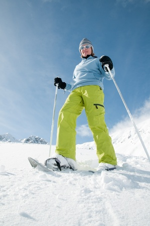 Snowshoeing Stock Photo - 8347049