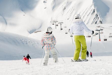 Ski lesson photo