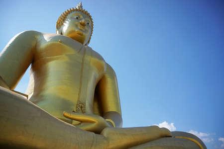 ayuttaya: Statue of Buddha in Ayuttaya Thailand