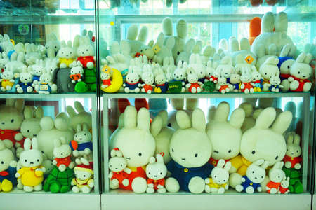 ayuttaya: AYUTTAYA, THAILAND - JANUARY 21: Collection of Toys called MIFFY doll at Million Toy Museum on JANUARY 21, 2016 Editorial