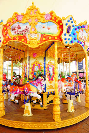 Colorful carousel for kid