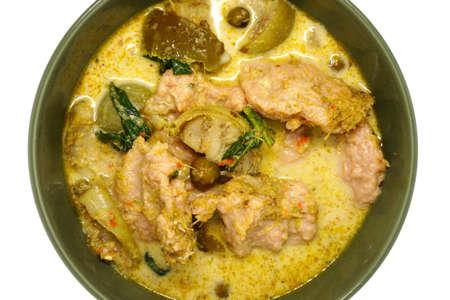 Pork green curry - Thai food