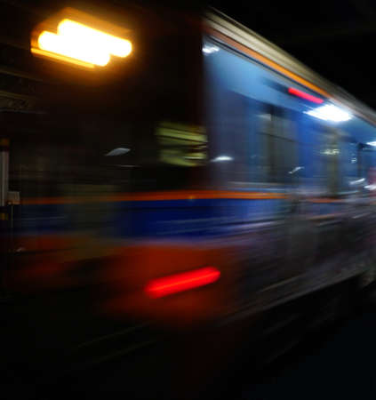 Train moving blurred motion, abstract transport background
