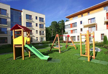 Children playground Stock Photo - 5261749