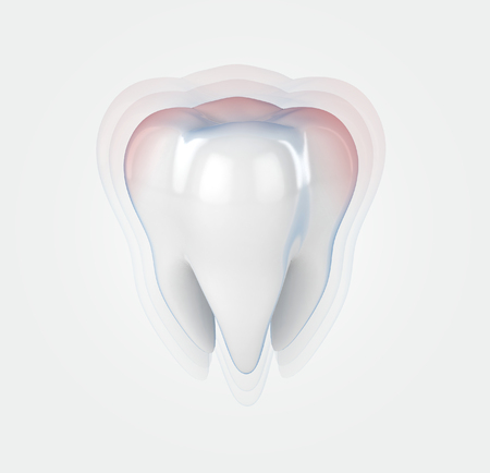 toothache: toothache 3d illustration