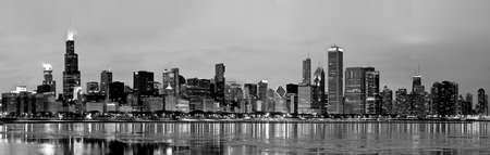 Chicago Skyline Panorama Stock Photo - 7029428