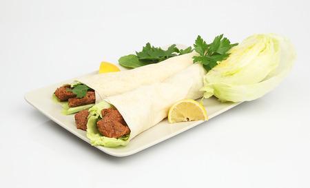 durum: Cig Kofte Durum- Turkish Shawarma