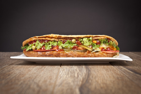 Sub Sandwich_Stock Image