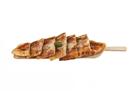 Turkish pide -Isolated Stock Image