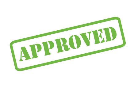approved stamp: Un sello autorizado sobre un fondo blanco.