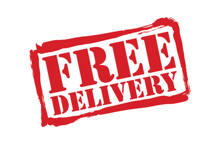 mailed: FREE DELIVERY red rubber stamp over a white background.