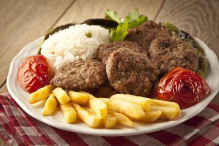Delicious Turkish Kofte (meatballs)