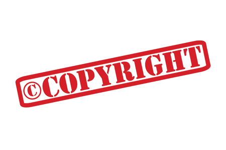 safeguarded: COPYRIGHT Rubber Stamp over a white background.