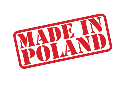 made manufacture manufactured: MADE IN POLAND Rubber Stamp