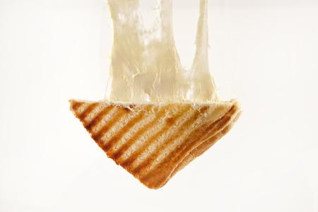 geroosterd cheddar kaas sandwich Turkse toast geïsoleerde