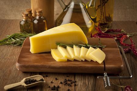 チェダー チーズのコンセプト写真