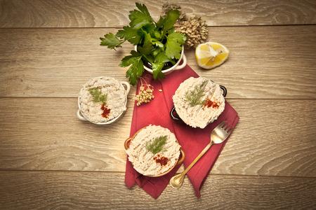 Chicken Porridge turkish cerkez (cerkes) tavugu photo