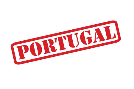PORTUGAL Rubber Stamp vector over a white background.