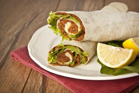 Cig kofte Durum Shawarma / Turkish Food
