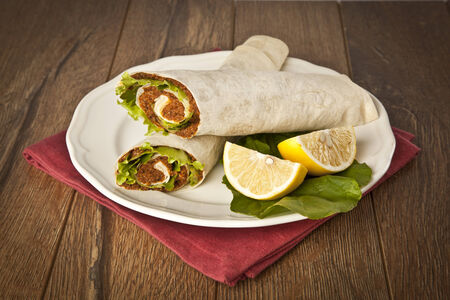 Cig kofte Durum Shawarma / Turkish Food