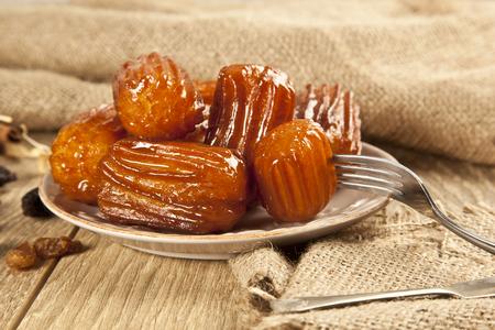 caloric: Turkish traditional dessert called Tulumba