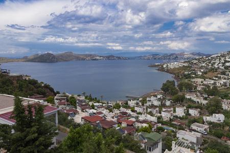 Bodrum Yalikavagi Turkey Bay View Stock Photo