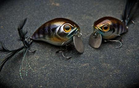 釣りプラスチック餌 Wobblers 写真素材
