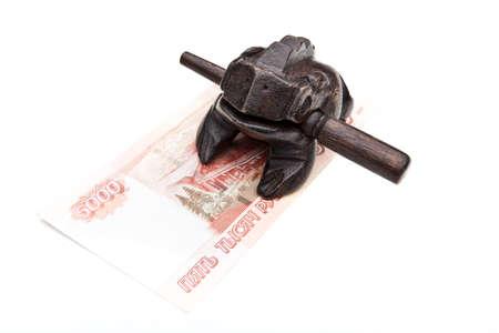 moneys toad feng shui Stock Photo