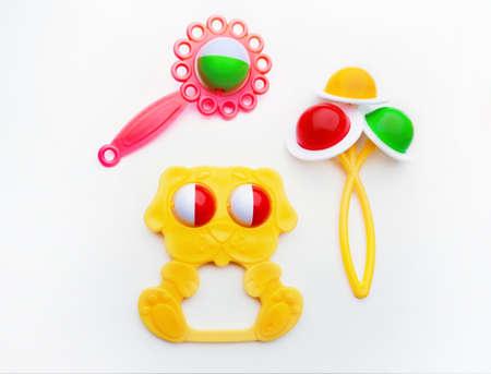 Baby toys in studio quality